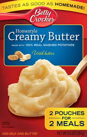 betty crocker instant potatoes