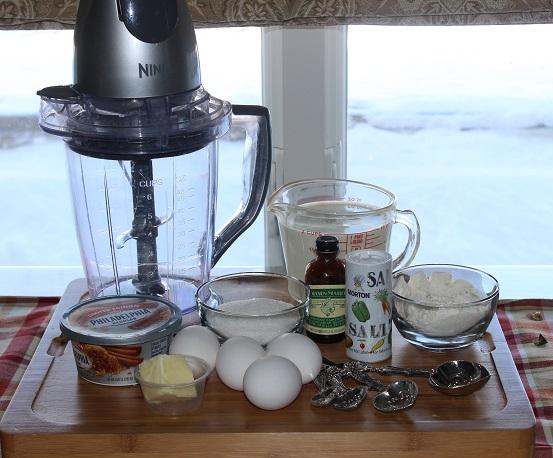 ingredients for blender pie