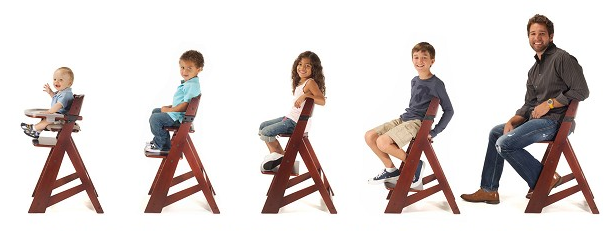 Celebrate Correct Posture Month Keekaroo on keekaroo height right high chair and tray