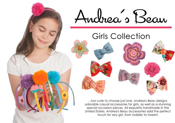 Andrea S Beau Hair Accessories