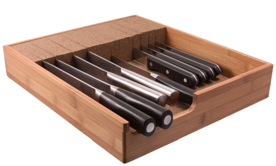 Knife Dock Store Protect And Organize Kitchen Knives