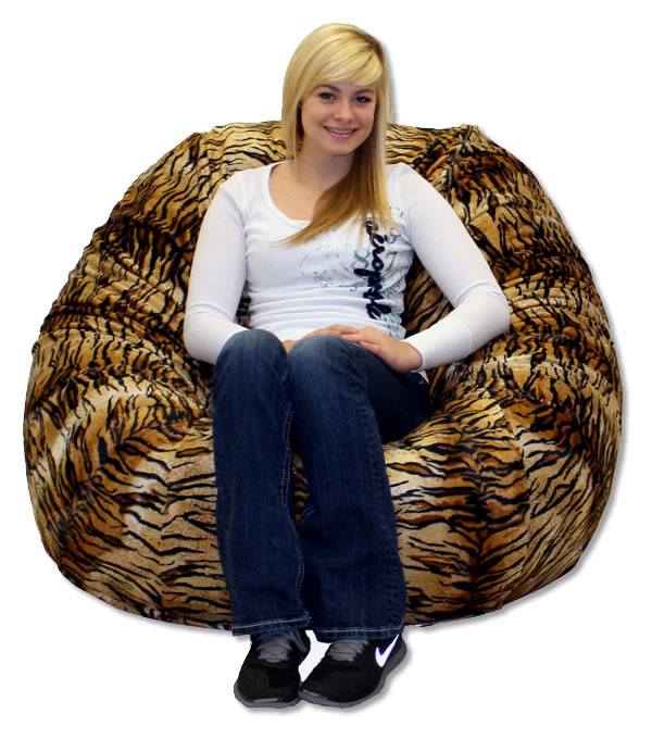 Chair Outlet Has Really Thought The Bean Bag Through Large Royal Sack Tiger