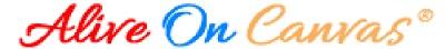 Alive On Canvas Logo Use
