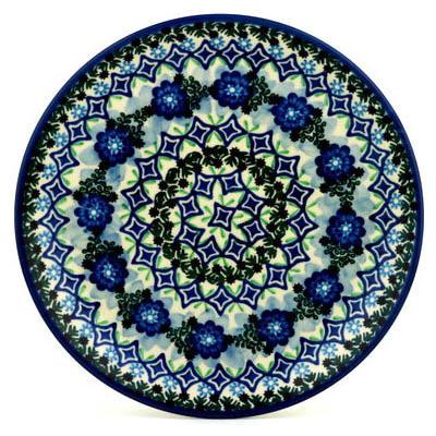 Polish-Pottery-Boleslawiec-Stoneware-Plate-223-Ceramika-Artystyczna-UNIKAT-pattern-U1917-H0718C-thumbXL
