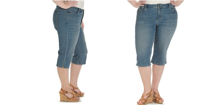 Lee for the perfect fit in jean shorts or capris - Mom Blog Society