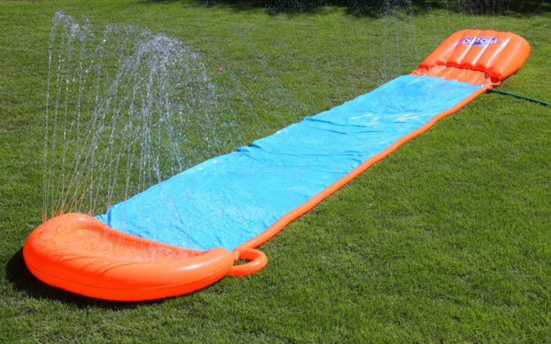 Summer Fun With H2O-GO Water Slide