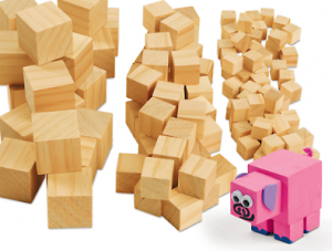 Lakeshore Wooden Craft Cubes