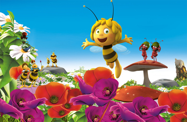 Buzzing Through Summer With Maya The Bee Movie