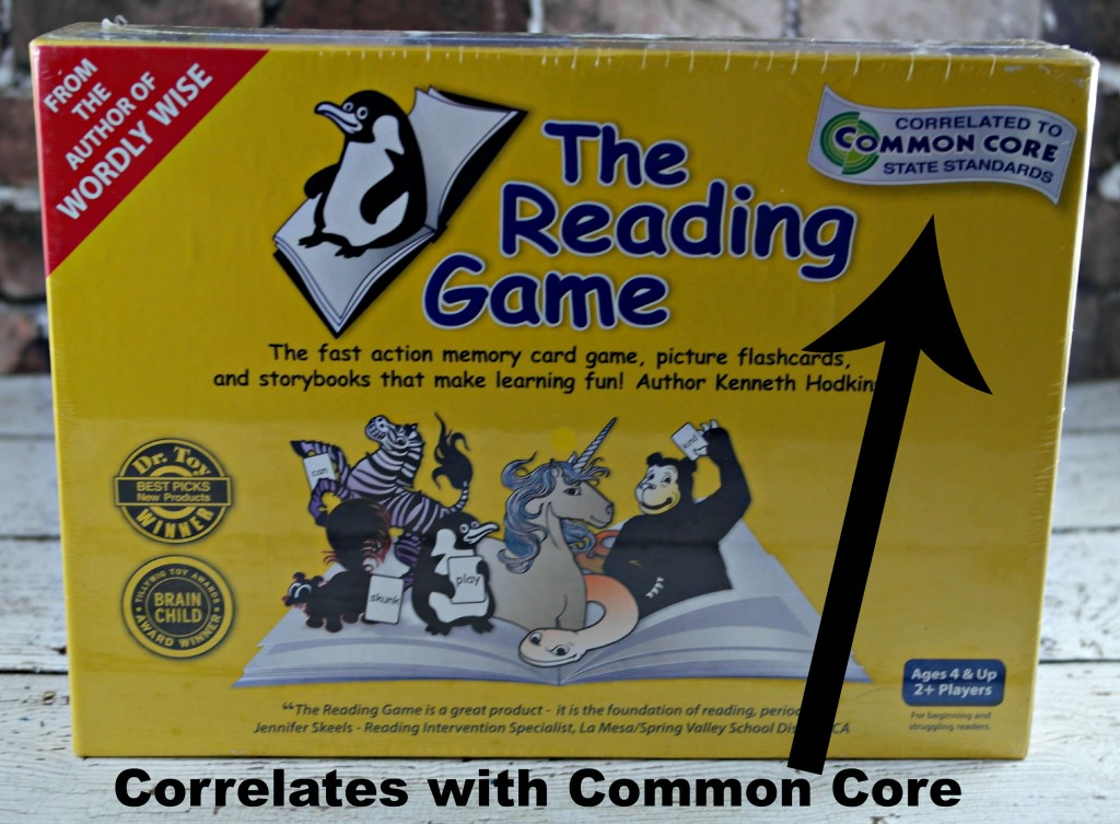 The Reading Game Common Core