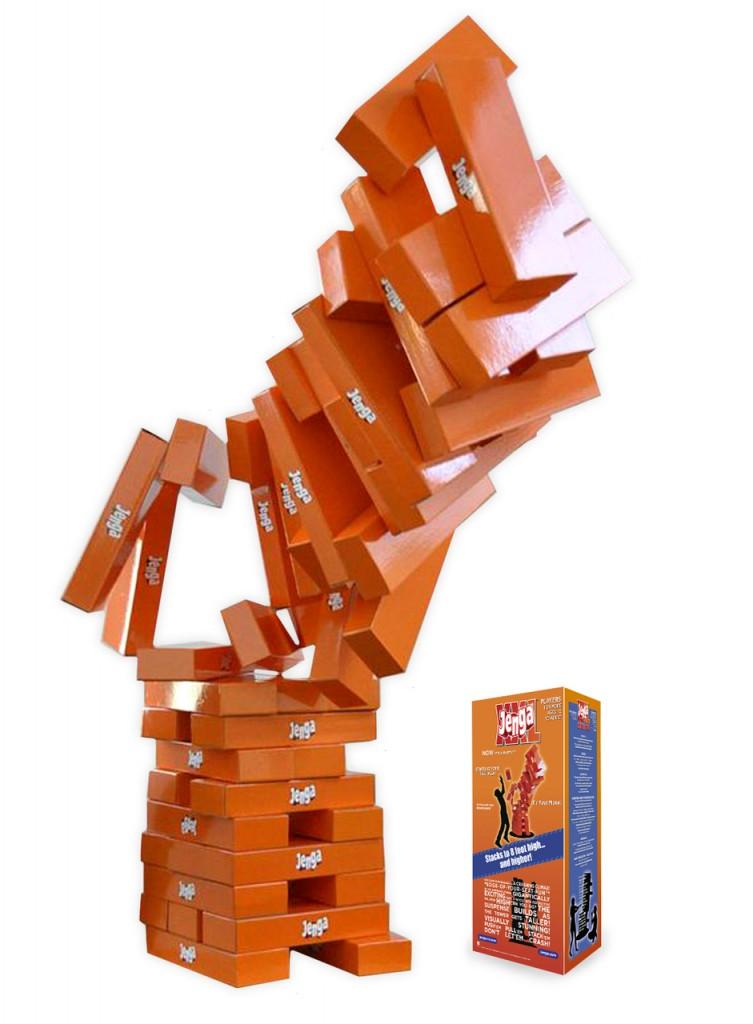 Best Holiday Family Games- Giant Jenga