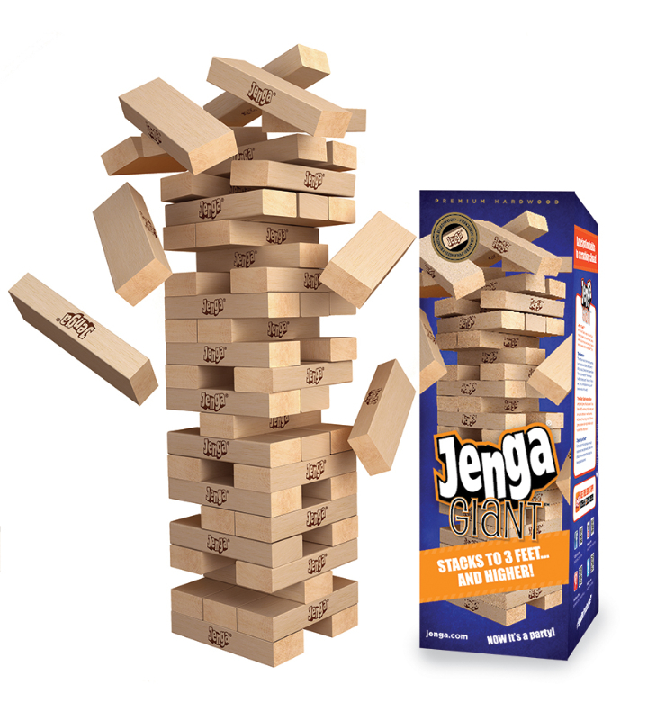Best Holiday Family Games- Giant Jenga