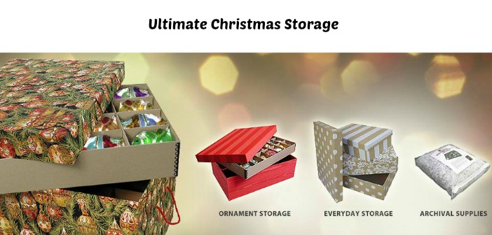 Ultimate Christmas Storage for after the Holidays! - Mom Blog Society