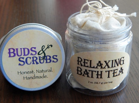 Buds and Scrubs Bath Tea 2