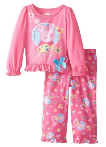 Peppa Pig Pink Pajamas 2 piece