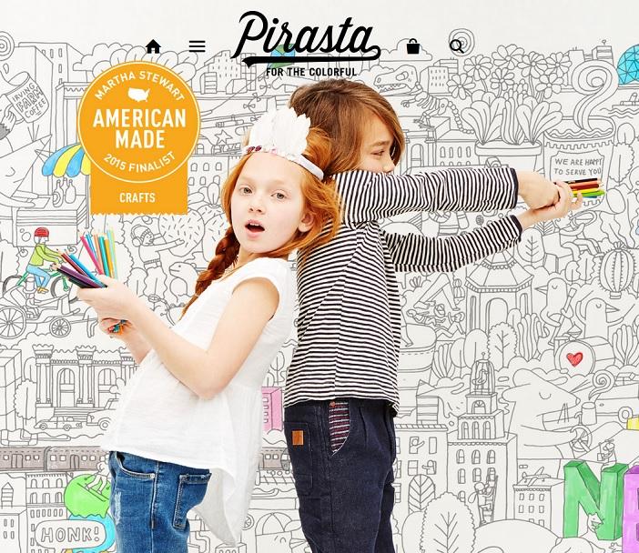 Pirasta Coloring Posters