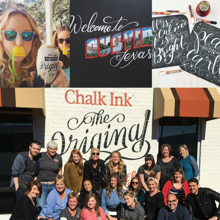 chalk in event photo