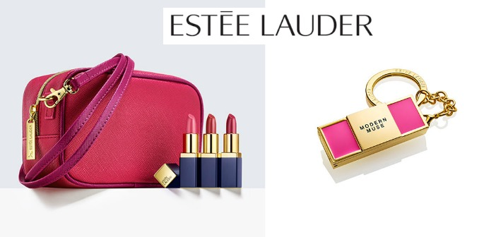 Estee Lauder for Valentine's Day, and to help Support Breast Cancer Awareness - Mom Blog Society