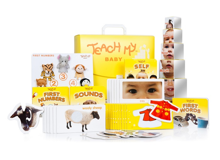 Teach My Baby Learning Kit Deluxe Version