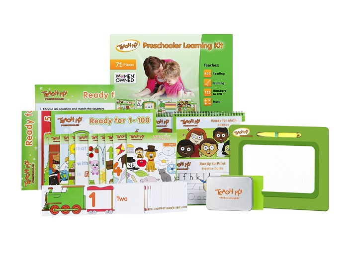 Teach My Preschooler Learning Kit Deluxe Version