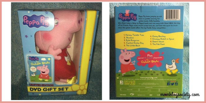 peppa pig dvd gift set
