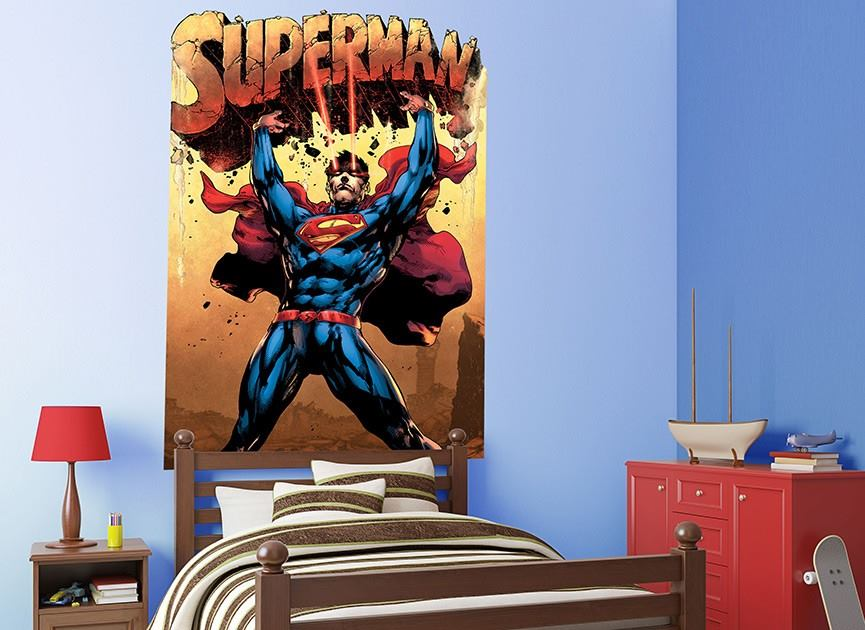 wall-ah superman