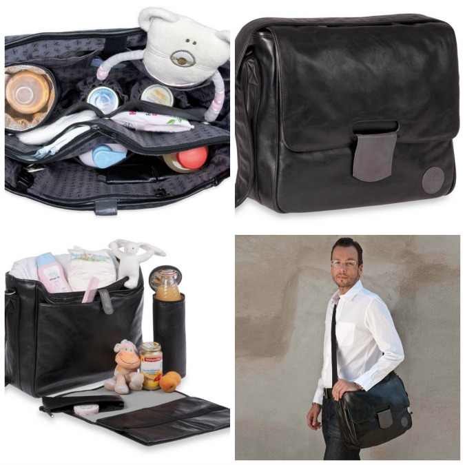 Great Gifts for Dads - The Tender Messenger Diaper Bag