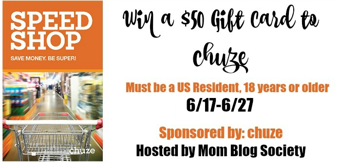 chuze $50 Gift Card Giveaway
