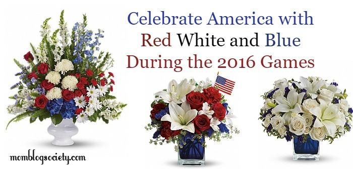 celebrate america with Teleflora