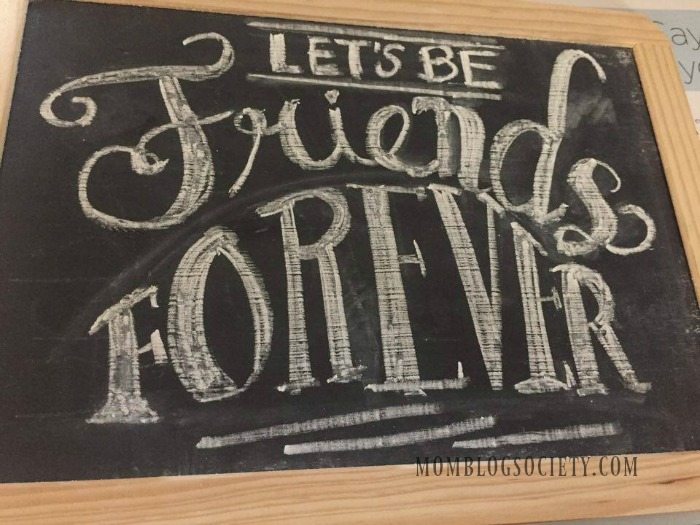 Chalk Ink lets be forever friends