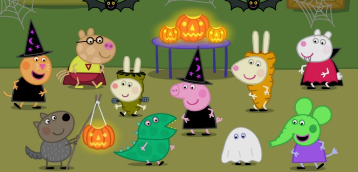 Brand-New Halloween Fun with Peppa Pig! Activities Clip and Show ...