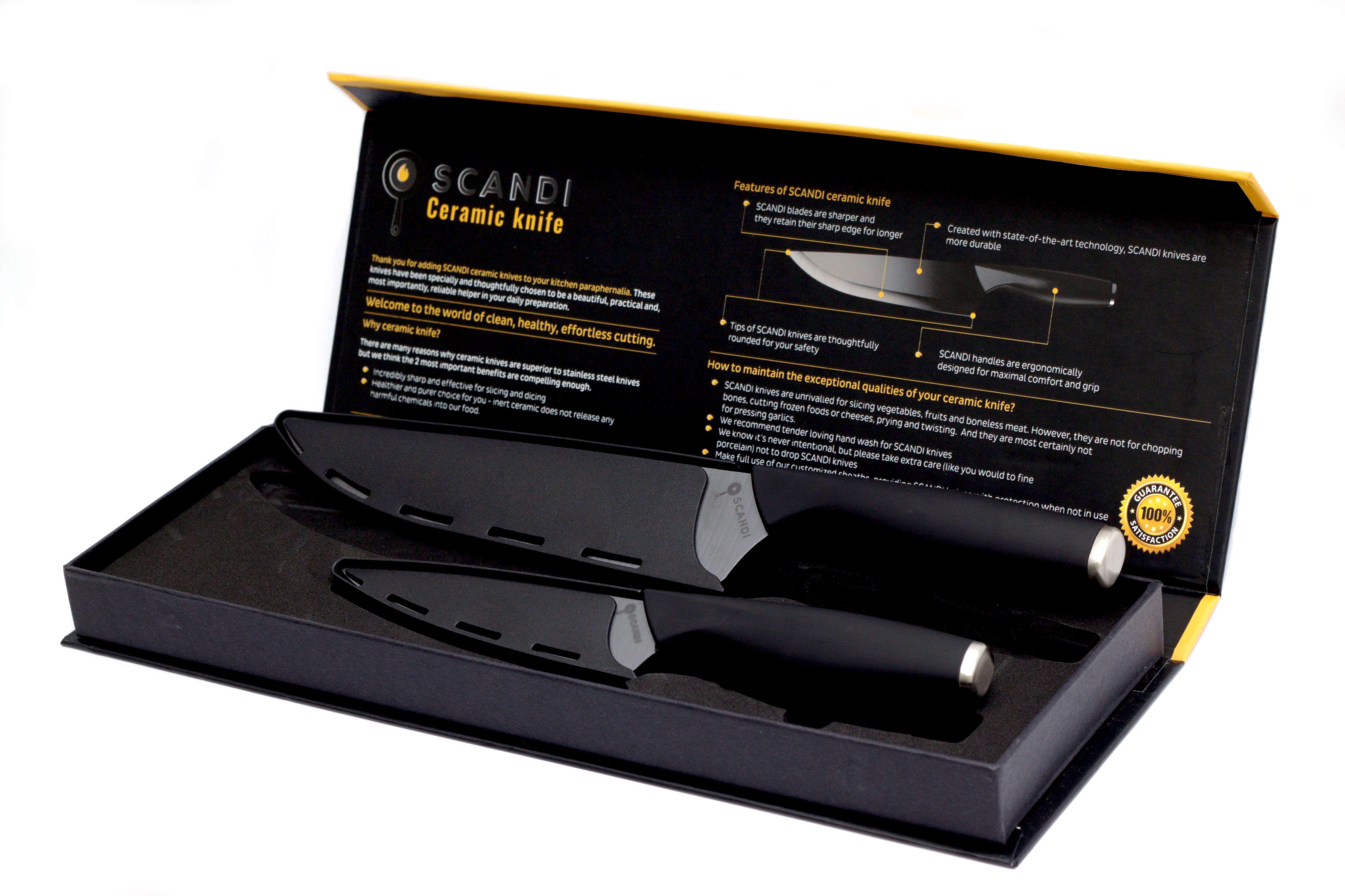 SCANDI Ceramic Knife Set Review
