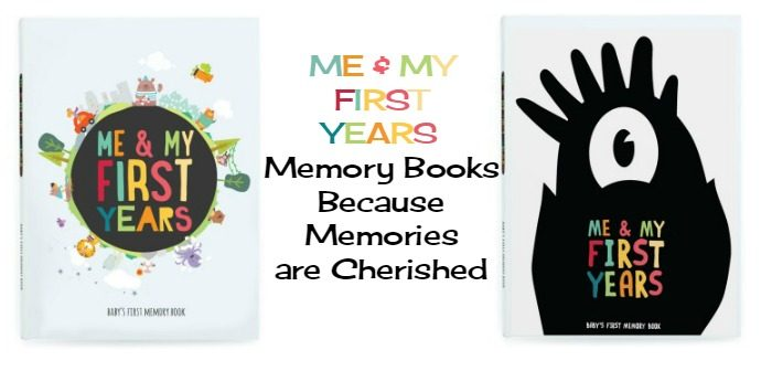 ME and MY FIRST Years Memory Books