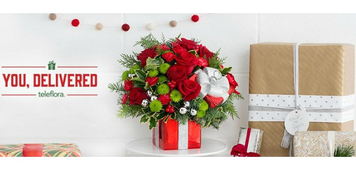 Teleflora will send a Beautiful Bouquet in Time for the Holidays ...
