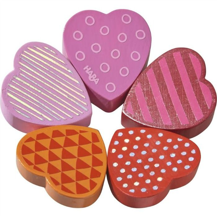 Blooming Heart clutch toy by HABA