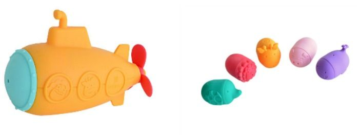 Mold Free Squirting Bath Toys by Marcus & Marcus