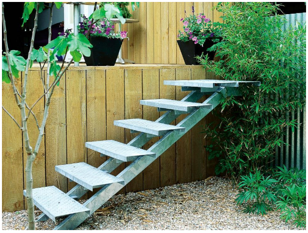 Step It Up: Designing Garden Stairs - Mom Blog Society