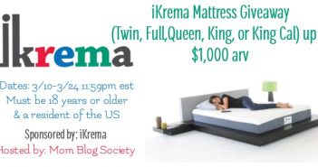 Welcome To The iKrema Memory Foam Mattress Giveaway!