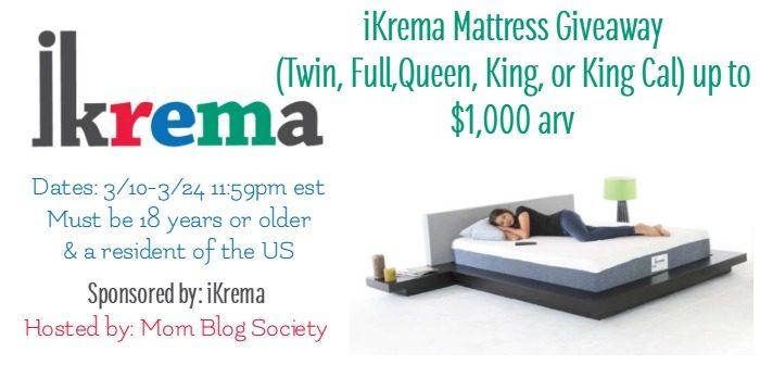 iKrema Giveaway