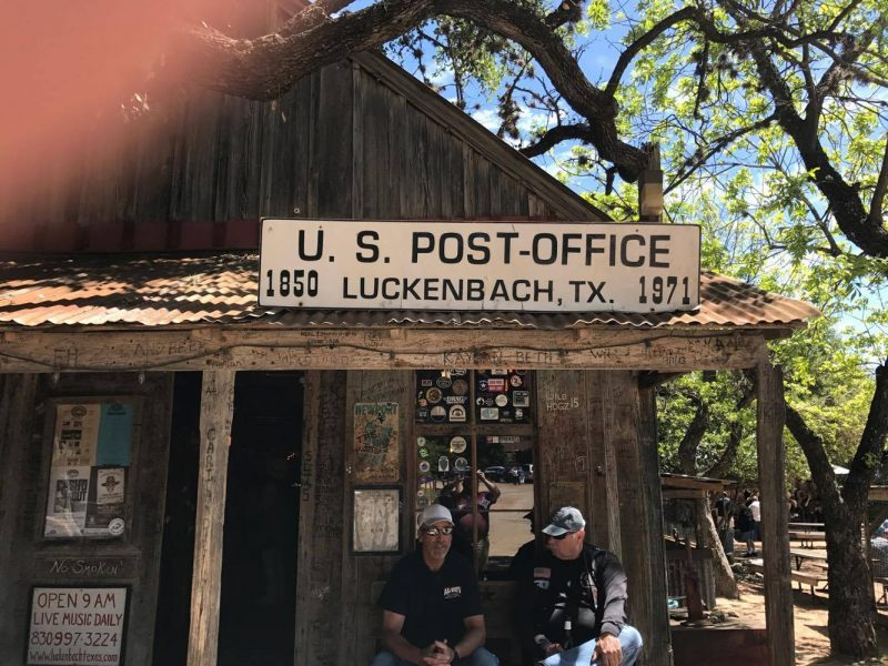 Luckenbach Texas Post office #VWAtlas