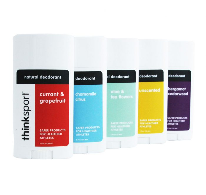 Thinksport releases the holy grail of natural deodorants, available in five amazing scents