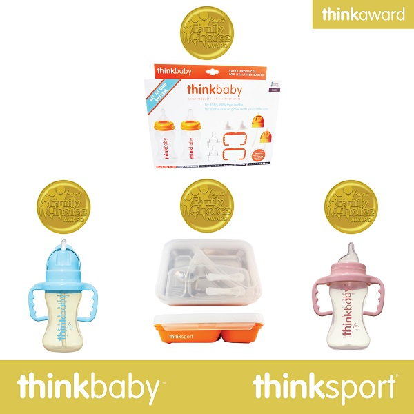 Thinkbaby and Thinksport honored with four Family Choice Awards