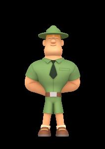 Leo the Wildlife Ranger, Children's Education Animation for Kids