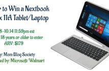 Win Your Own Nextbook Flexx 11A Tablet/Laptop (arv $179.00)