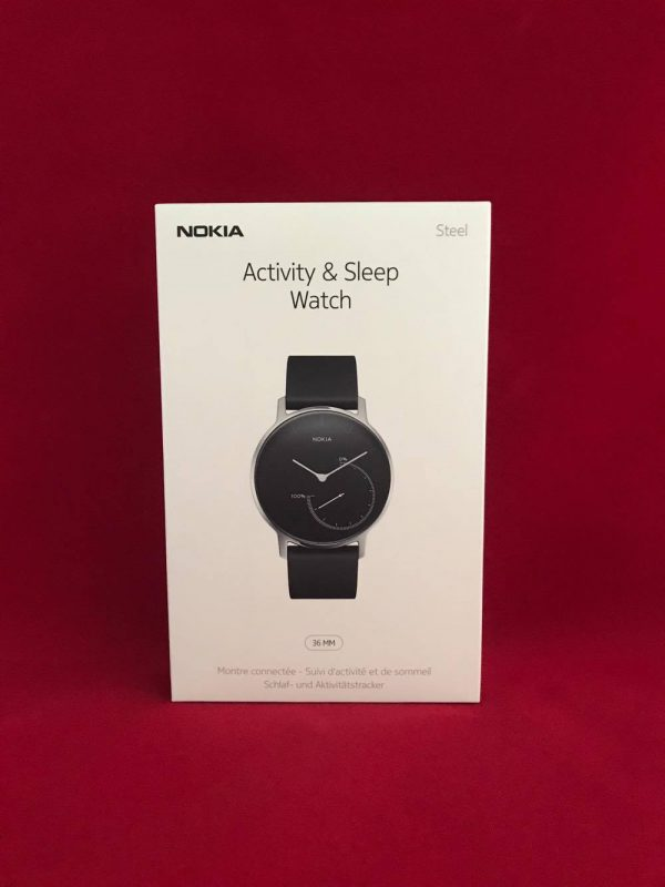 Keep Track of Your Fitness with the Nokia Steel Activity and Sleep Tracker