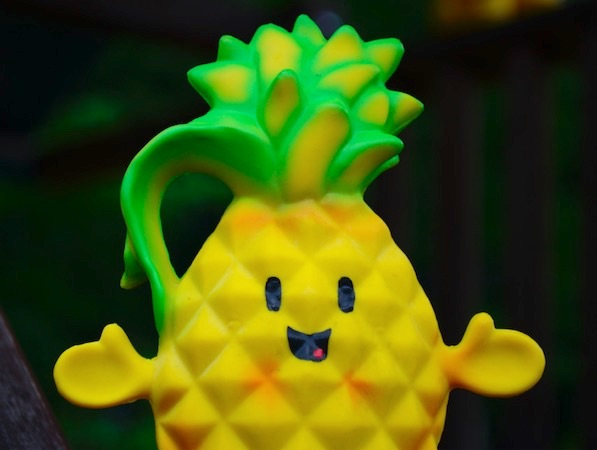 POLLY PINEAPPLE™ A Teether That Soothes and Is Helping to Give Back