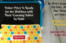 Win a Fisher-Price Nabi Learning Tablet (arv $99.99)
