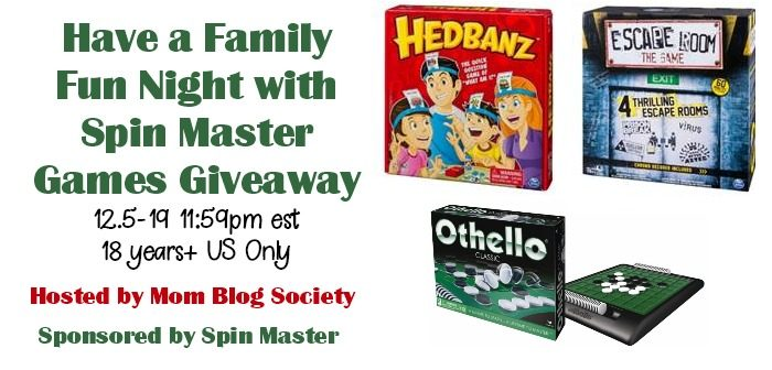Have a Family Fun Night with Spin Master Games Giveaway