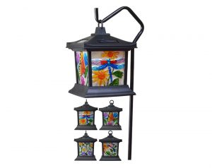 Get Ready for Spring with Floral Stained Glass Lights from Moonrays