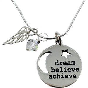 Inspired Endurance necklace dream believe achieve