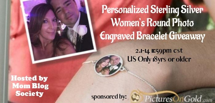Pictures on Gold Sterling Silver Bracelet Giveaway